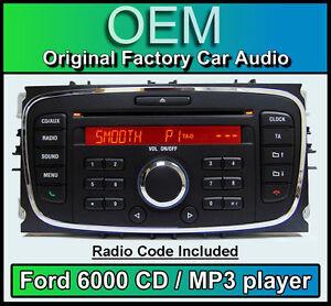 ford 6000 cd manual 2008