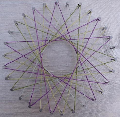 circle string art instructions