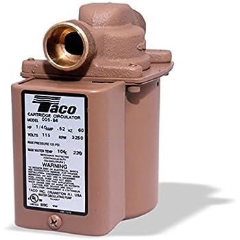 taco cartridge circulator 006 bc4 manual