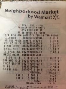 how to make a walmart receipt