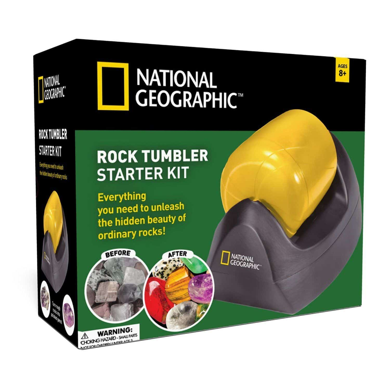 national geographic rock tumbler instruction manual