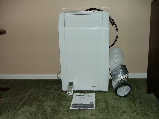 uberhaus portable air conditioner manual