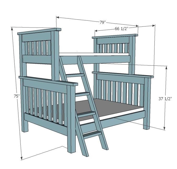 manhattan loft bunk bed instructions