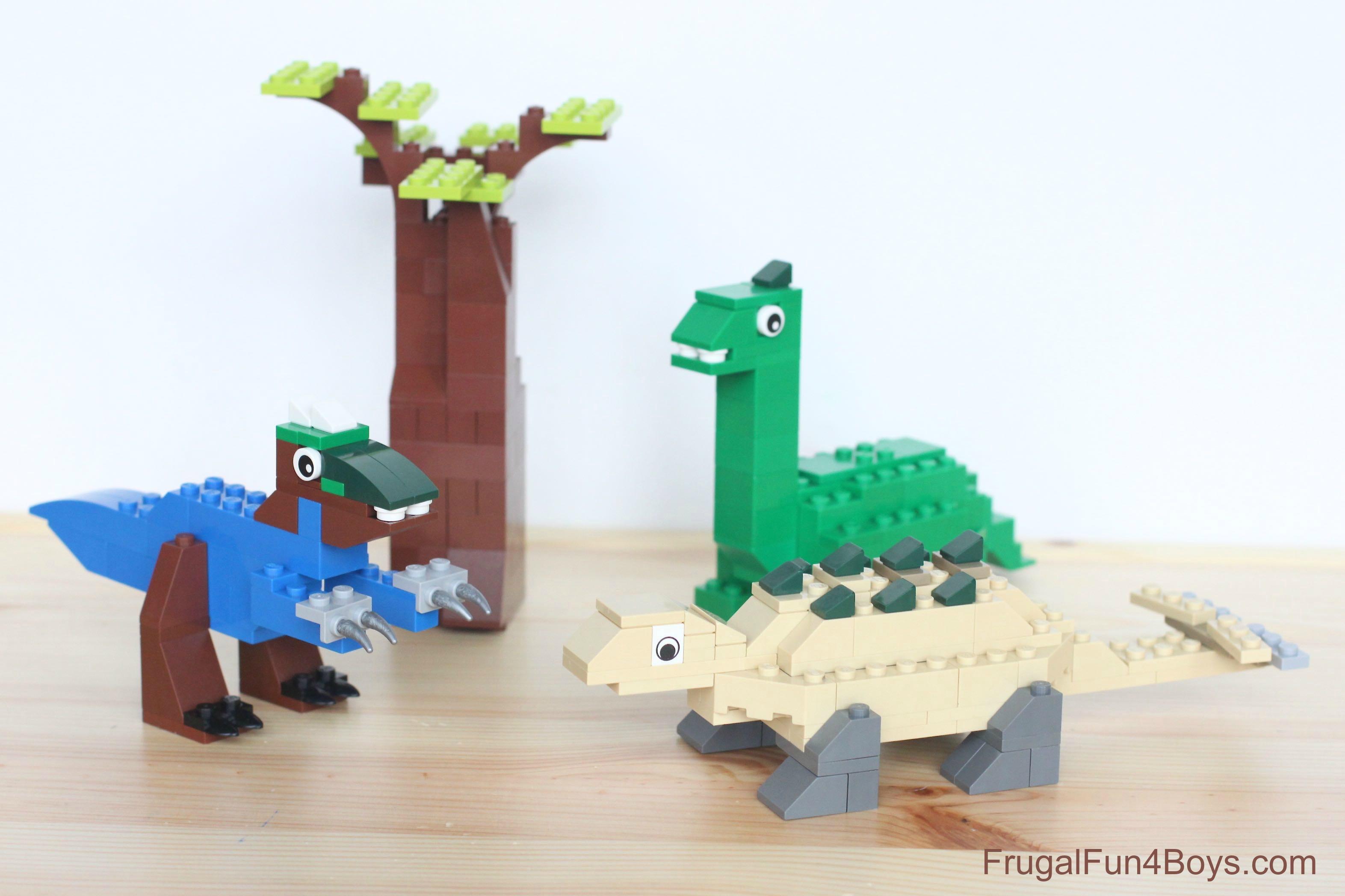 lego 10654 dinosaur instructions