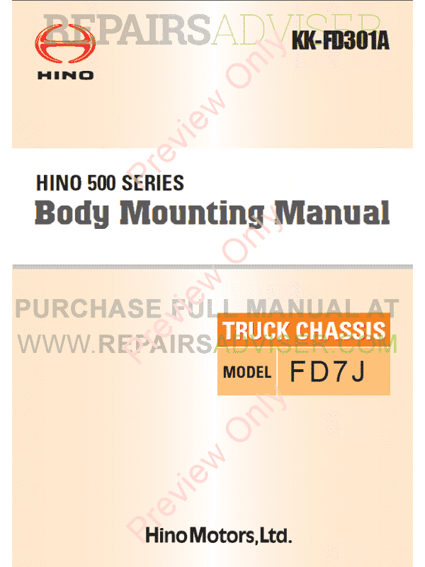 hino 500 owners manual pdf