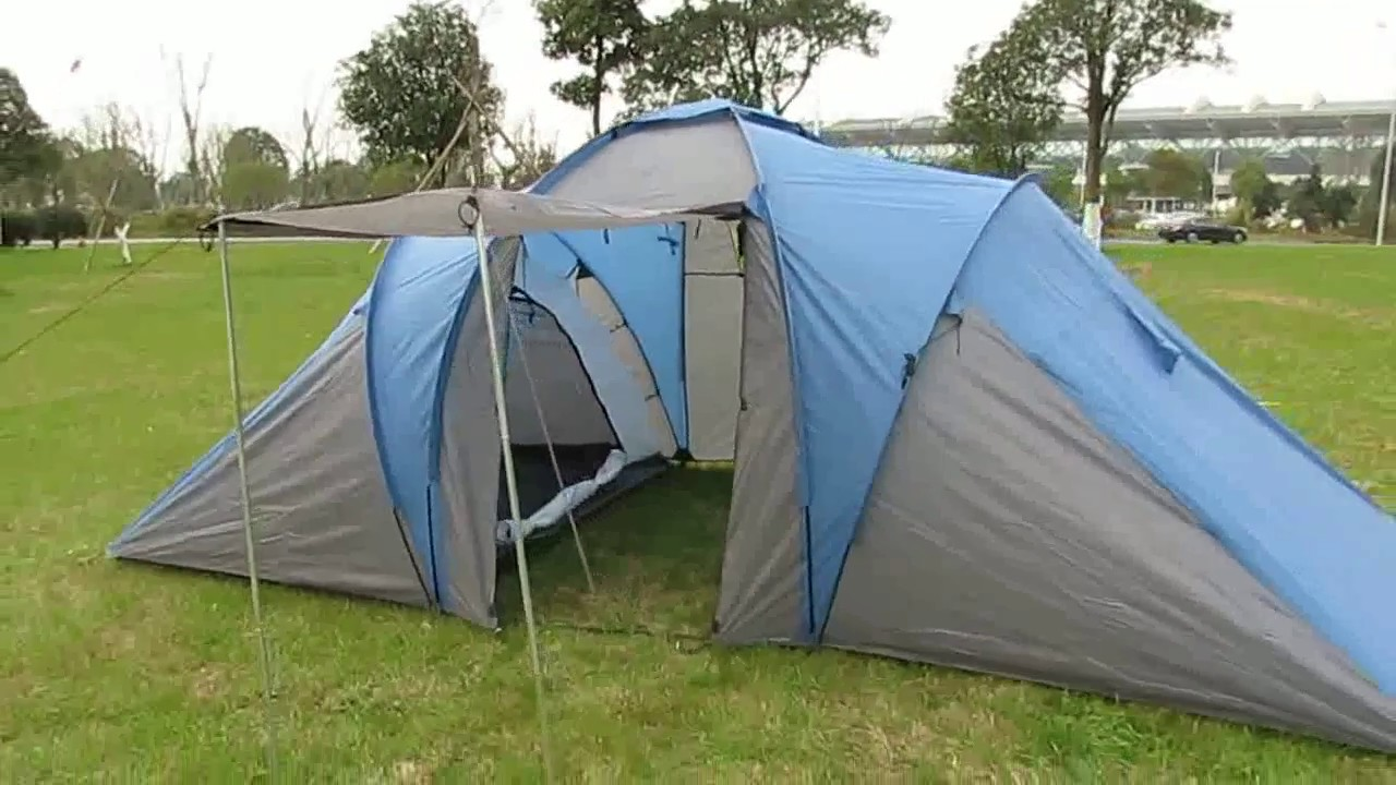 hinterland 6 person 3 room tent instructions