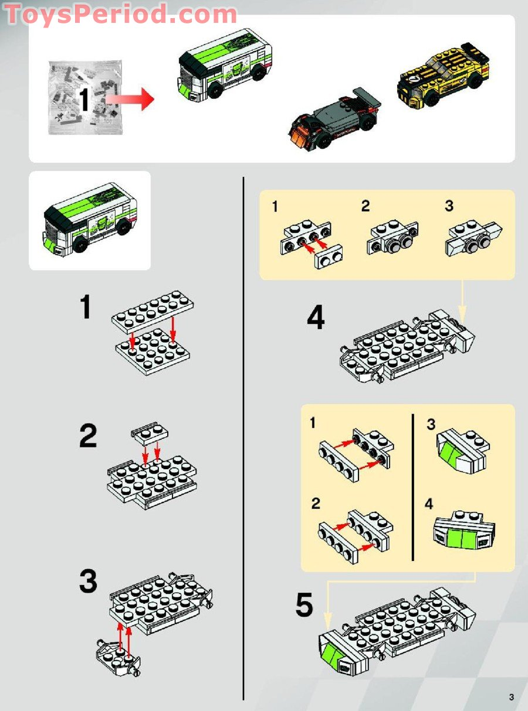 lego brick instructions dimensions