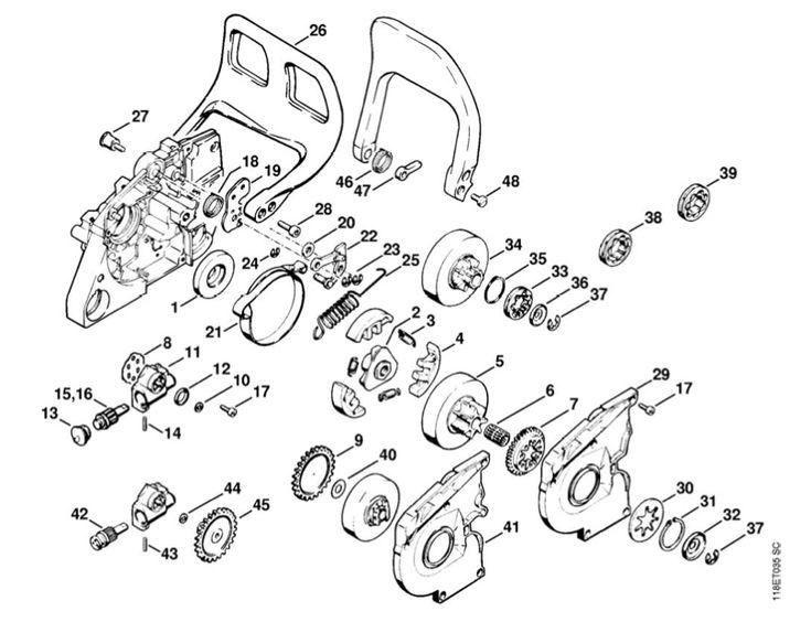 stihl 034 av parts manual