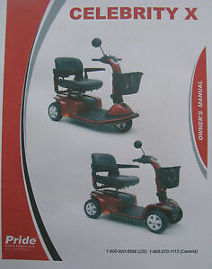 celebrity x scooter repair manual