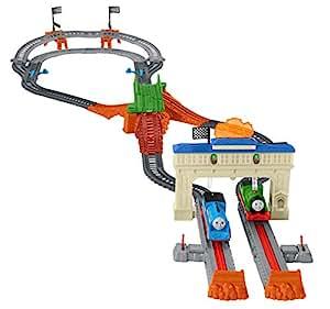 mattel thomas the train track instructions