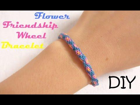 friendship bracelet instructions using wheel