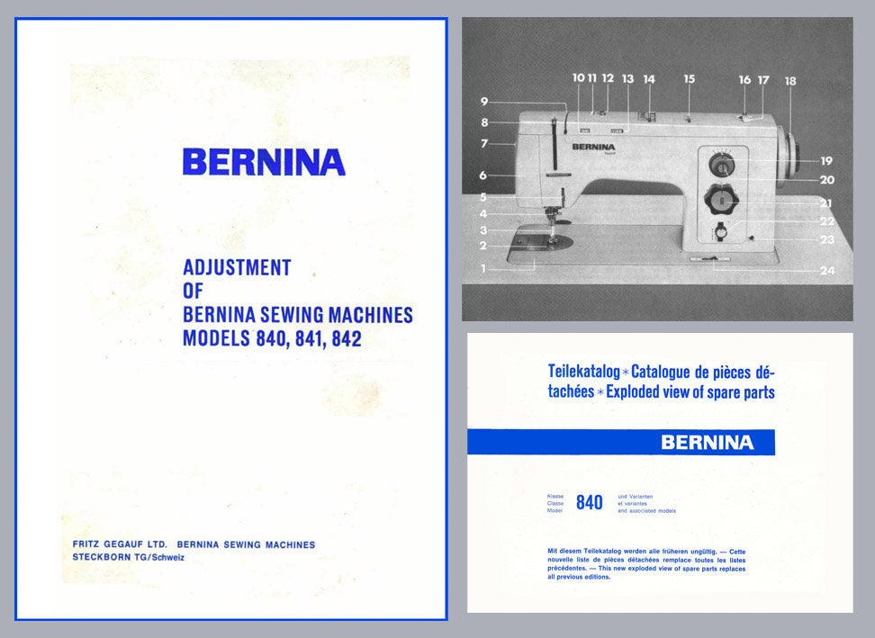 bernina activa 130 service manual