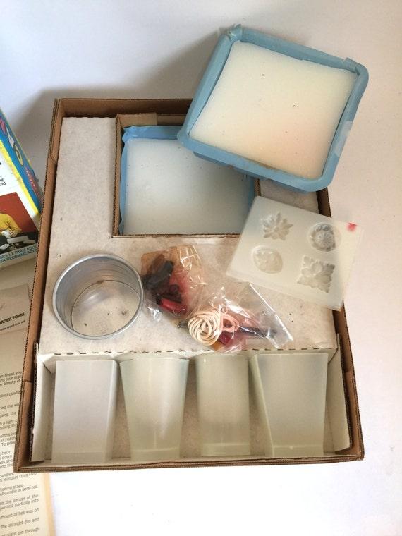 candle making kit instructions