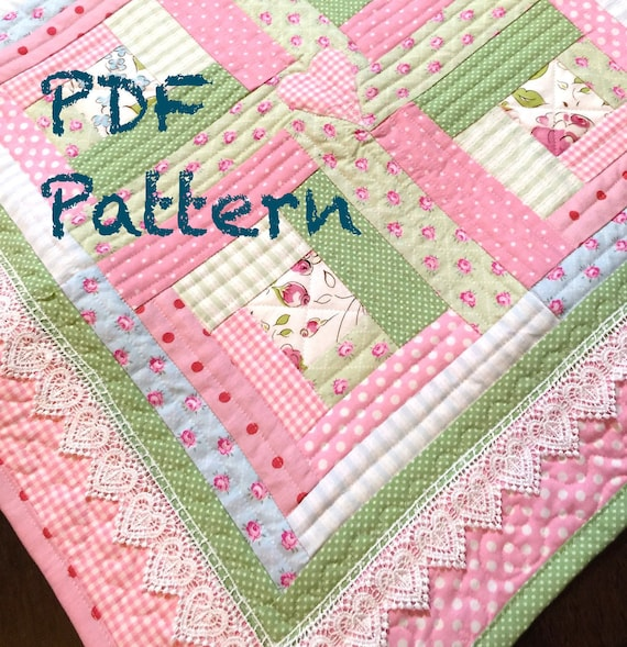 log cabin patchwork instructions