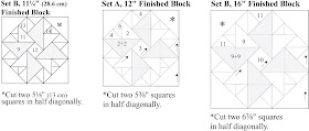 double aster quilt block instructions
