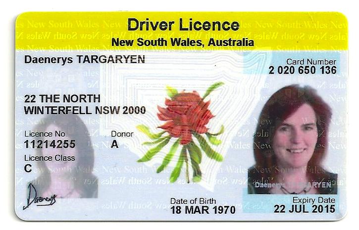 how to make a fake australian drivers license