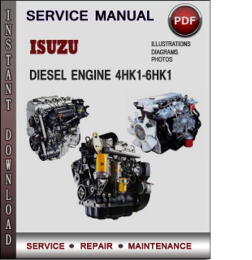 isuzu 4jh1 engine manual pdf