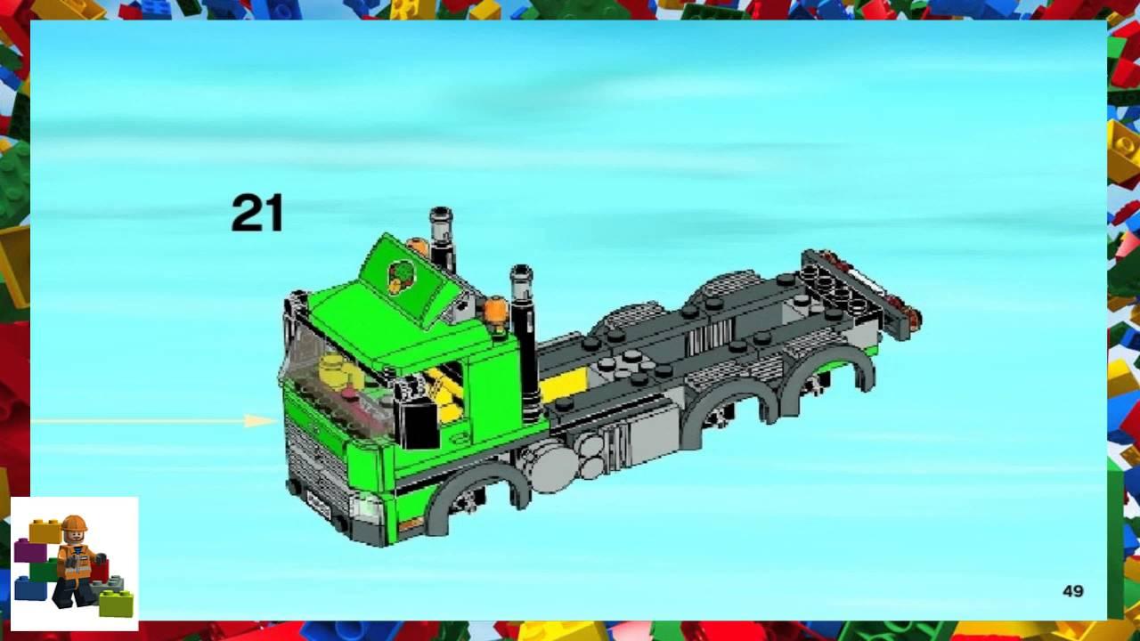 lego cargo truck instructions