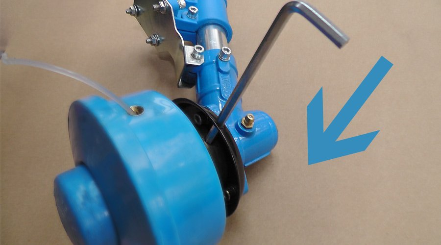 nupower petrol line trimmer instruction